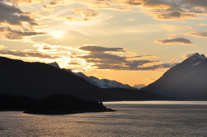 Sunset Near Skagway