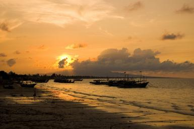 Sunset Of East Java