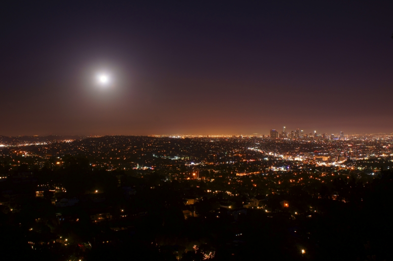 Supermoon Los Angeles