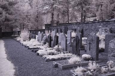 Swiss Cemetary (infra Red)