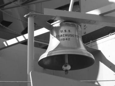 The Bell Of The Uss Massachusetts