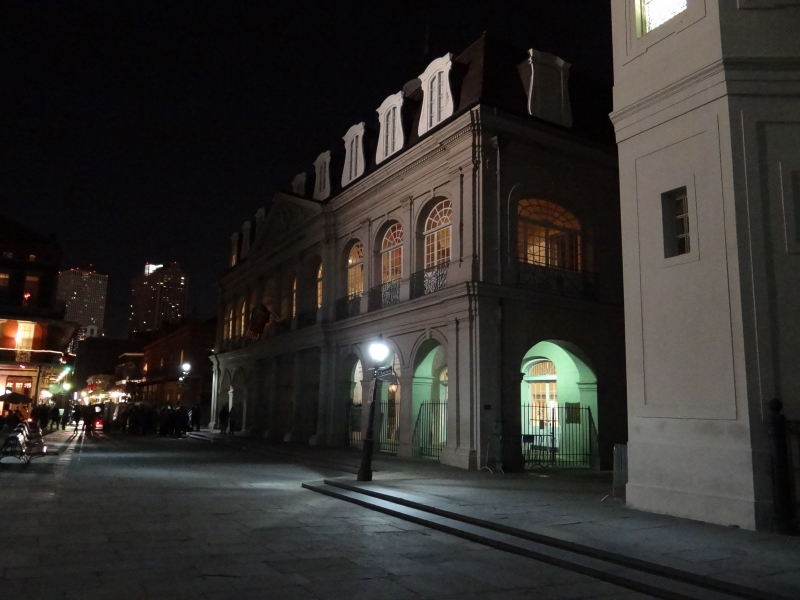 The Cabildo At Night