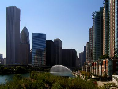 The Chicago River North