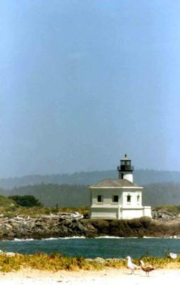 The Conquille River Lighthouse