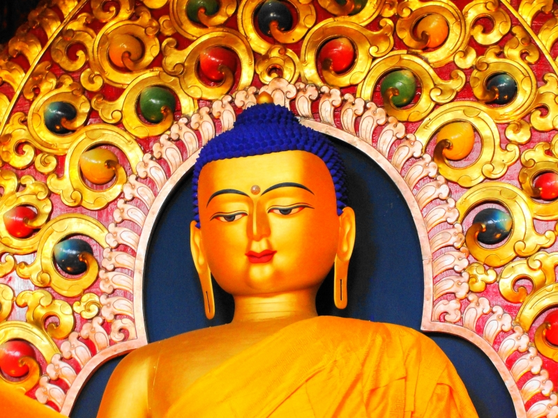 The God Buddha
