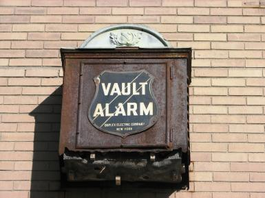 The Lima Trust Co. Vault Alarm Circa 1926