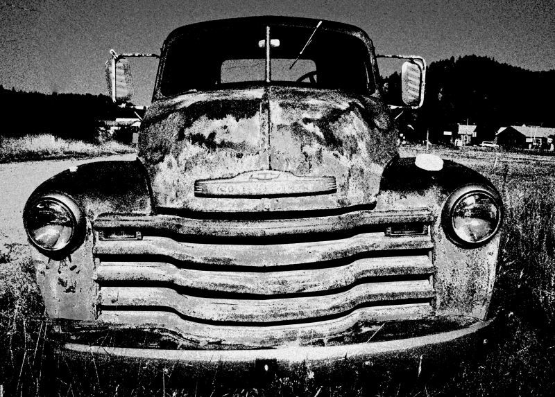 The Old Chevy….
