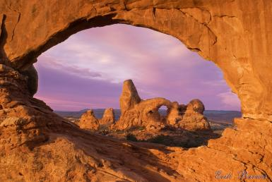 Turret Arch Through North Window
