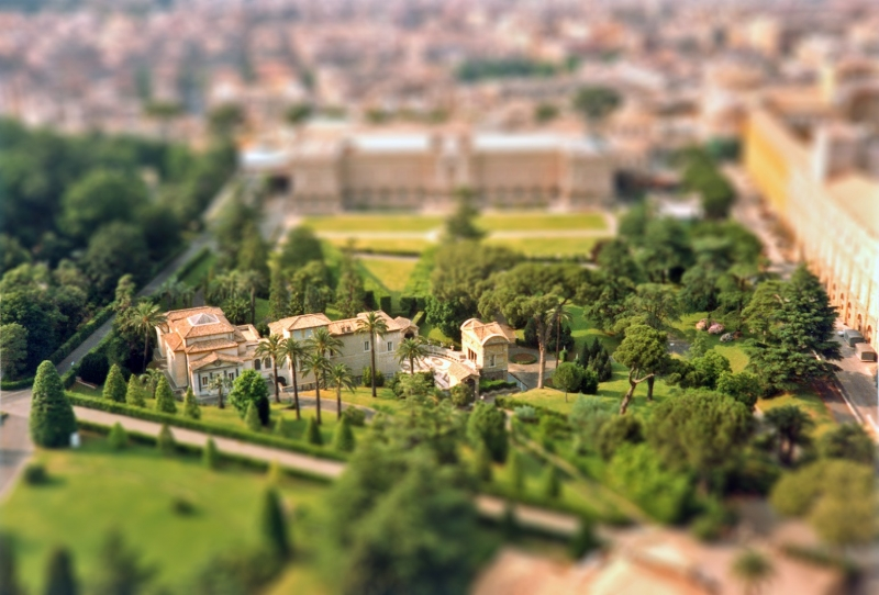 Vatican Gardens In 'Miniature'