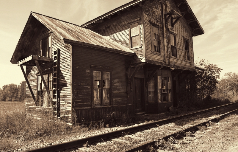 Vergennes Train Station