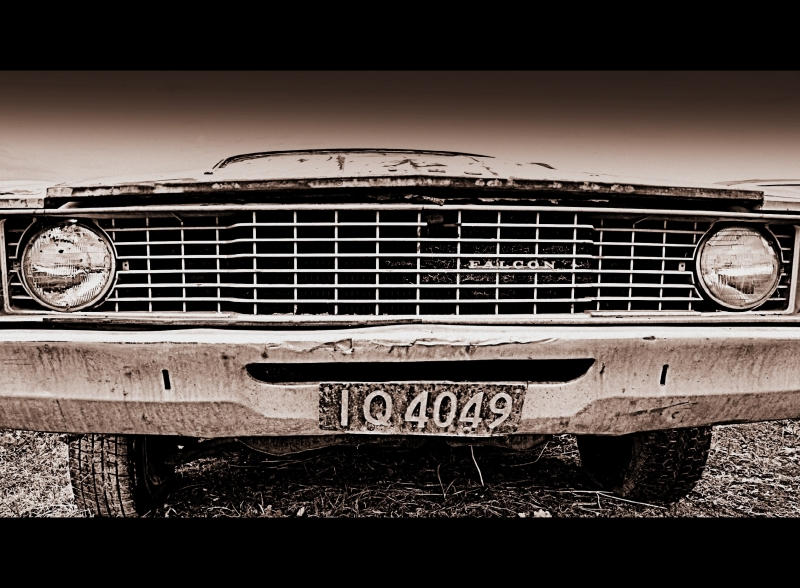 Vintage Ford Falcon