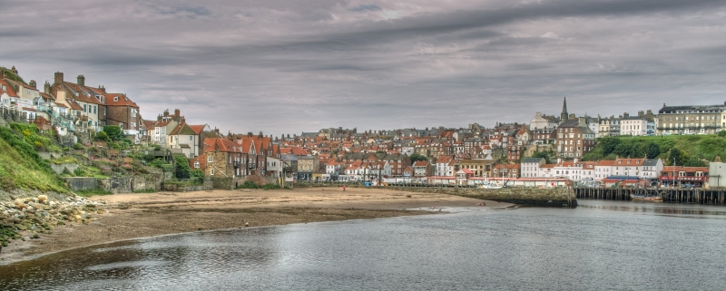 Whitby From East Pier