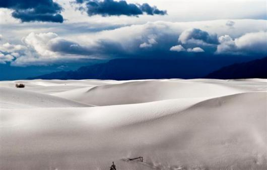 White Sands National Monument After Storm