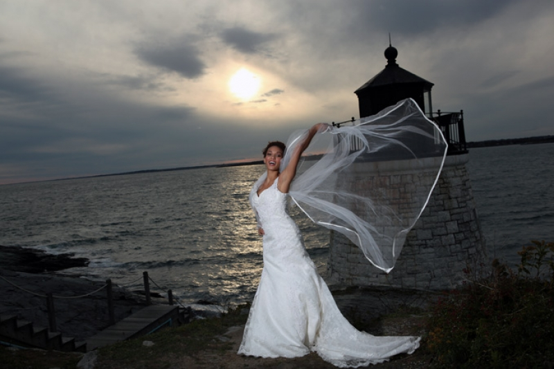 Wind Blown Bride