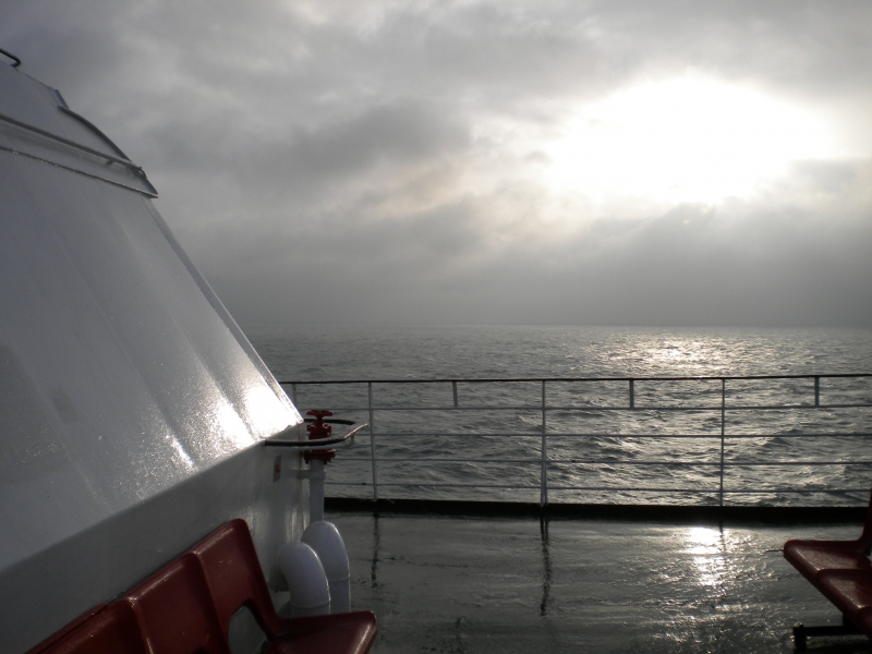 Winter Sailing Across The English Channel