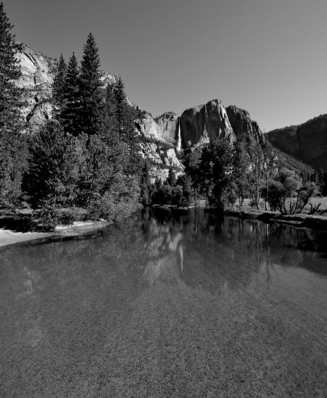 Yosemite Falls / Meced River