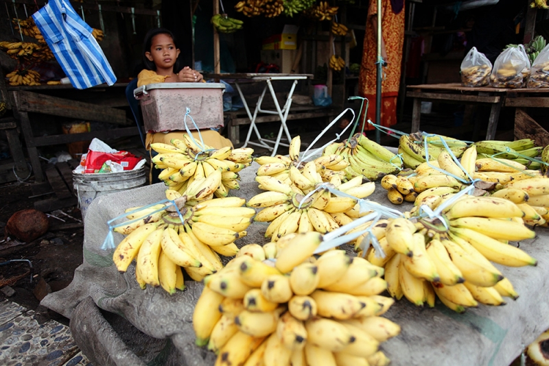 Young Banana Seller