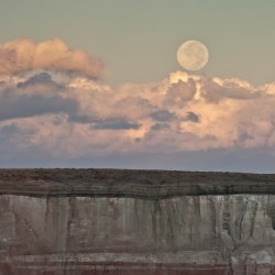 Full Moon At Coal Mine Canyon