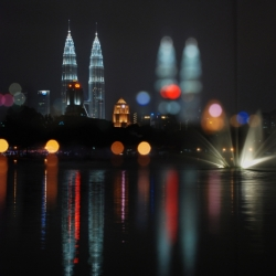 Klcc In Focus & Out Of Focus