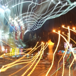 Spider Net Light At Bintang Walk