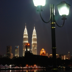Twin Lamp & Twin Tower