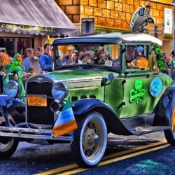 Model A Rides The St. Patty Day Parade