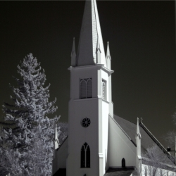 Church In Infrared