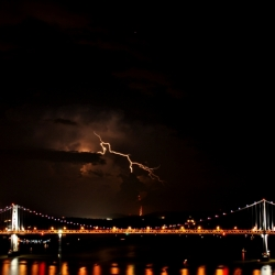 Lightning Over The Hudson
