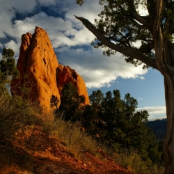 Last Light On Garden Of The Gods