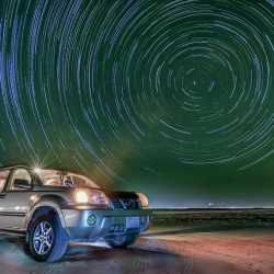 Al-Salmi Star Trail