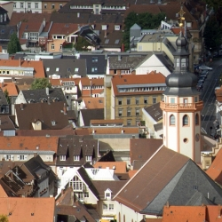 Rooftops Of Karlsruhe