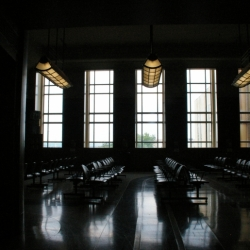The Waiting Room At Union Terminal