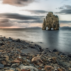 Hvitserkur Sea Stack At Hunafjordur, Iceland