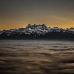 Over the clouds / Switzerland