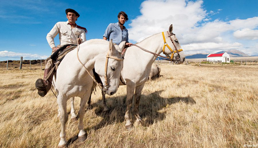 Photography is a universal language. Sharing images on your camera's LCD can help establish a connection and build rapport, like I did with  these gauchos who ride the rugged Patagonia landscape of Chile.