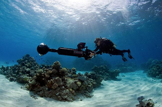 Photographically Mapping Coral Reefs
