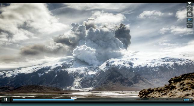 Unpronounceable Icelandic Volcano + Stop Motion = Really Cool Video