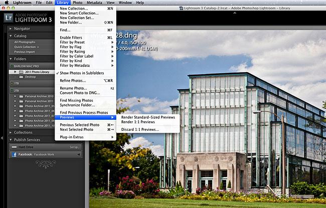 Speed Up Lightroom