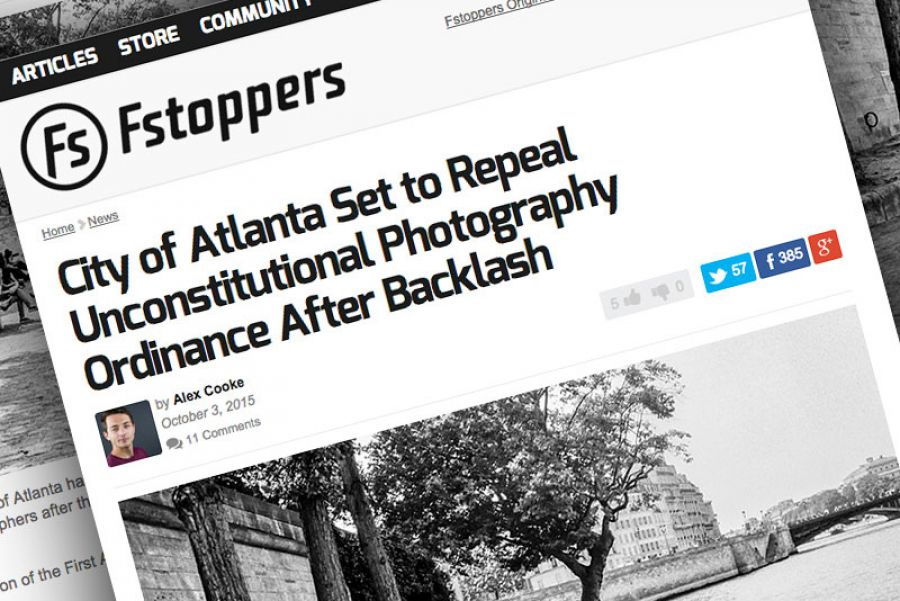 Unconstitutional Photography Ordinances Create Real Backlash