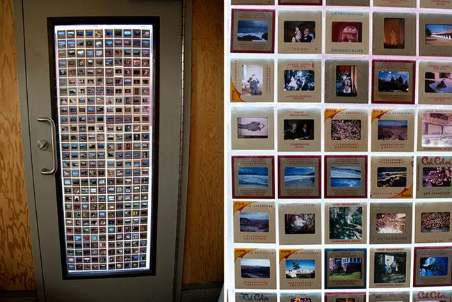 Stained Glass Made Of Photographs