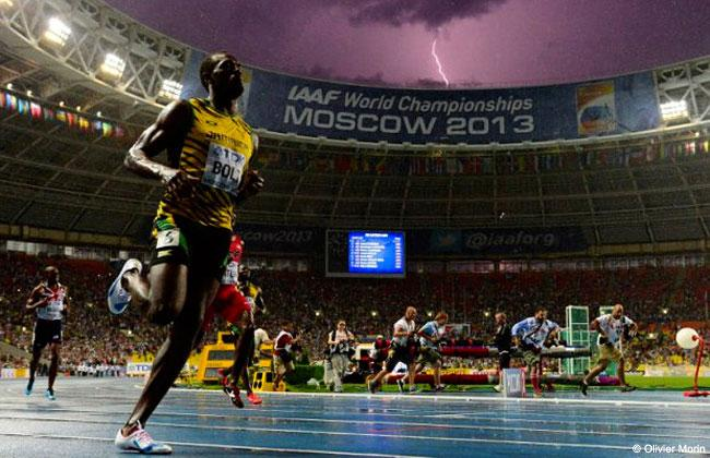 Lightning Strikes With Bolt