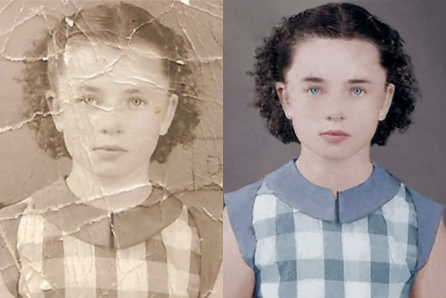 Restoring And Colorizing An Old Photo In Three Minutes