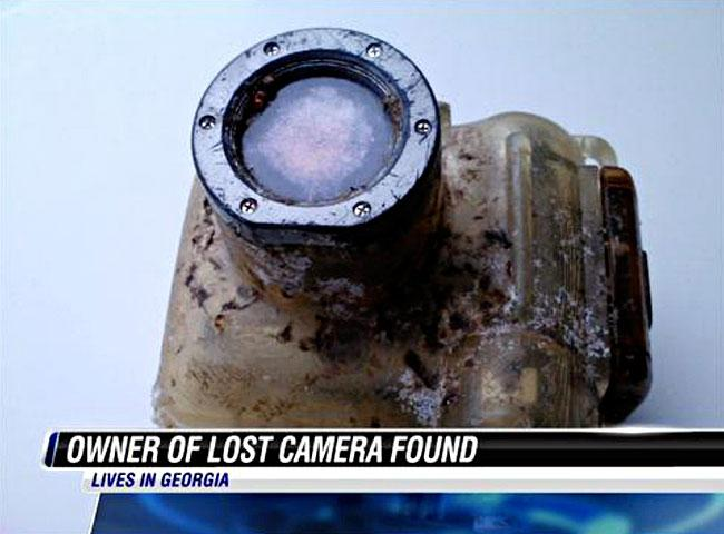 Long Lost Camera Finds Its Way Home