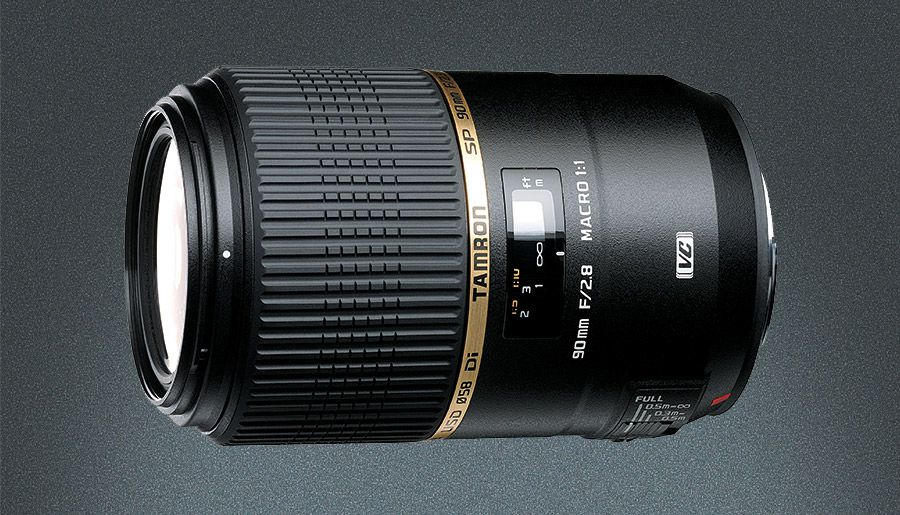 Tamron's SP 90MM ƒ/2.8 Di VC USD 1:1 features Vibration Compensation for steadying handheld exposures—critical for close-up work when a tripod isn't practical.
