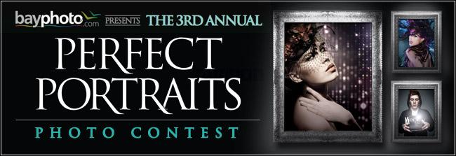 3rd Annual Perfect Portraits Landing Page