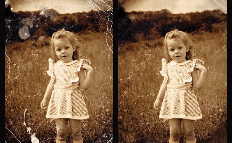 Whether you need to hide skin blemishes in a portrait quickly or do some serious restoration work on an old photo, the enhanced Spot Healing Brush in Photoshop Elements 9 will sample surrounding pixels intelligently to patch things up fast.