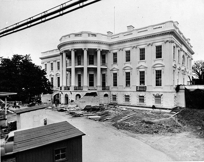White House Under Construction