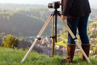 The Expedition Wooden Tripod