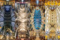 Vertical Panoramas Of New York Churches