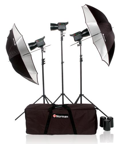 Norman Allure C1000 3  Tungsten Light Kit